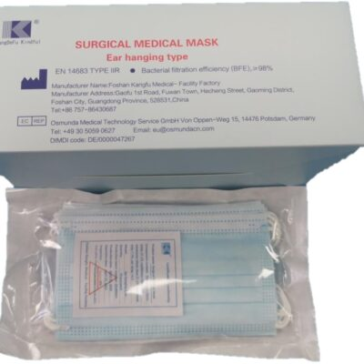 3 Ply Type IIR Surgical Face Mask - Pack of 50 | CE- Certified | FASK UK