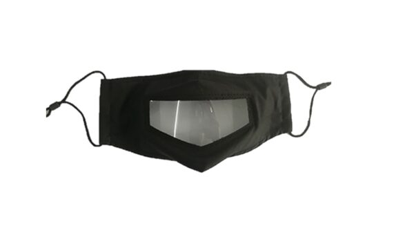 Clear Panel FASK | Washable & Reusable Clear Panel Face Mask